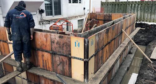 Excavation-Fondasec - Services de Fondation, nouveau garage, extension | Fondasec.com