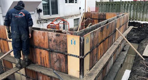 Fondasec Excavation   Offeres Home-Extension Foundation Services to the greater Montreal area    Fondasec.com