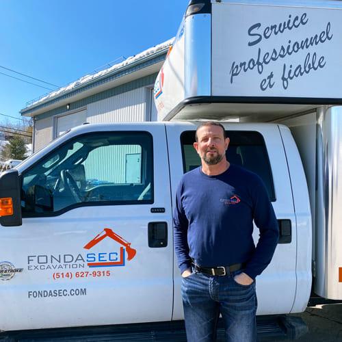 Tony Niro – Owner and founder of Fondasec Excavation - Fondasec.com